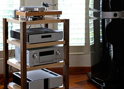 PlyKraft Audio Racks