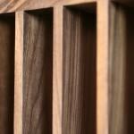 Walnut slats