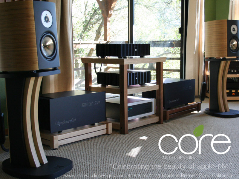 Core Audio Designs Audio Rack - AudioAficionado org