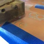 Coherent laser cutter
