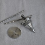CORE adjustable 5 piece stainless steel spike and coaster