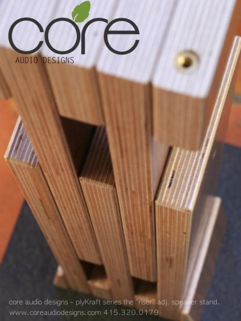 Speaker Stands | Core Audio Designs