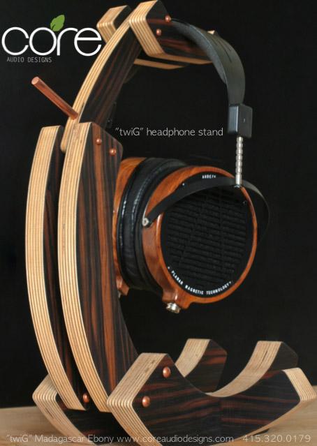 Headphone Stand Designs : Headphone stands core audio designs