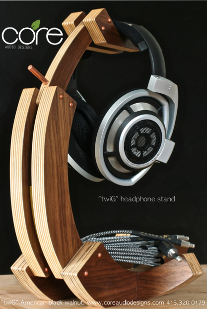 Headphone Stands Core Audio Designs